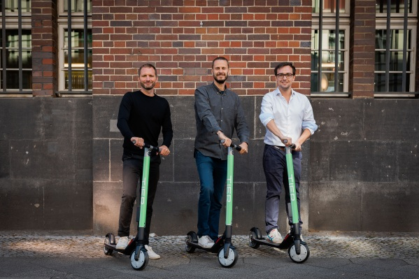 Tier, the Berlin-based Scooter Rental Startup, Raises €25M as European E-scooter Market Heats up