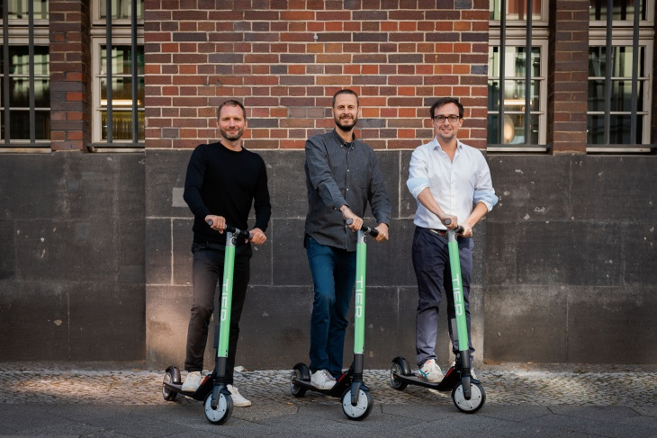 Tier, the Berlin-based scooter rental startup, raises €25M