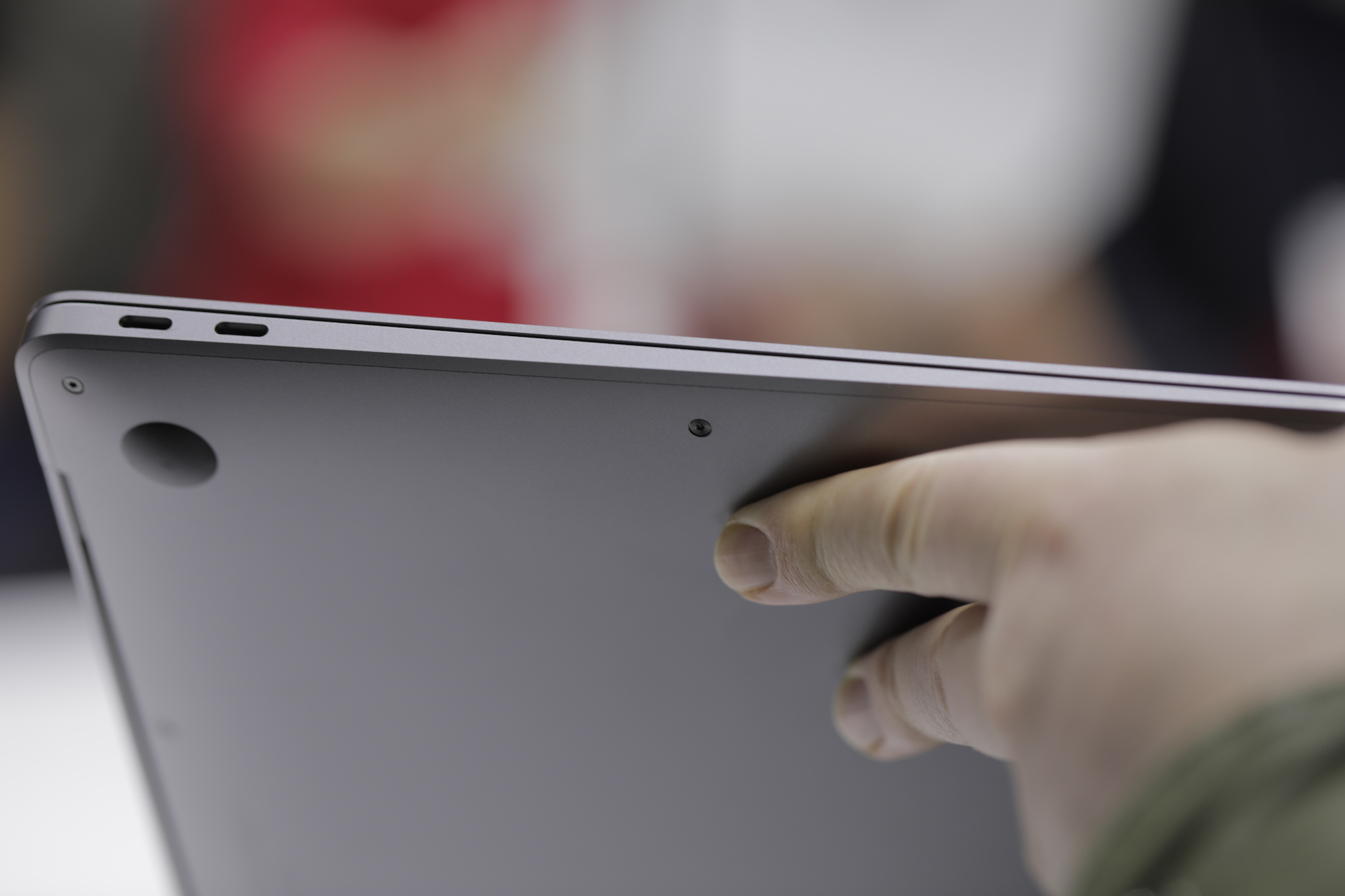 Up close and hands on with the new MacBook Air