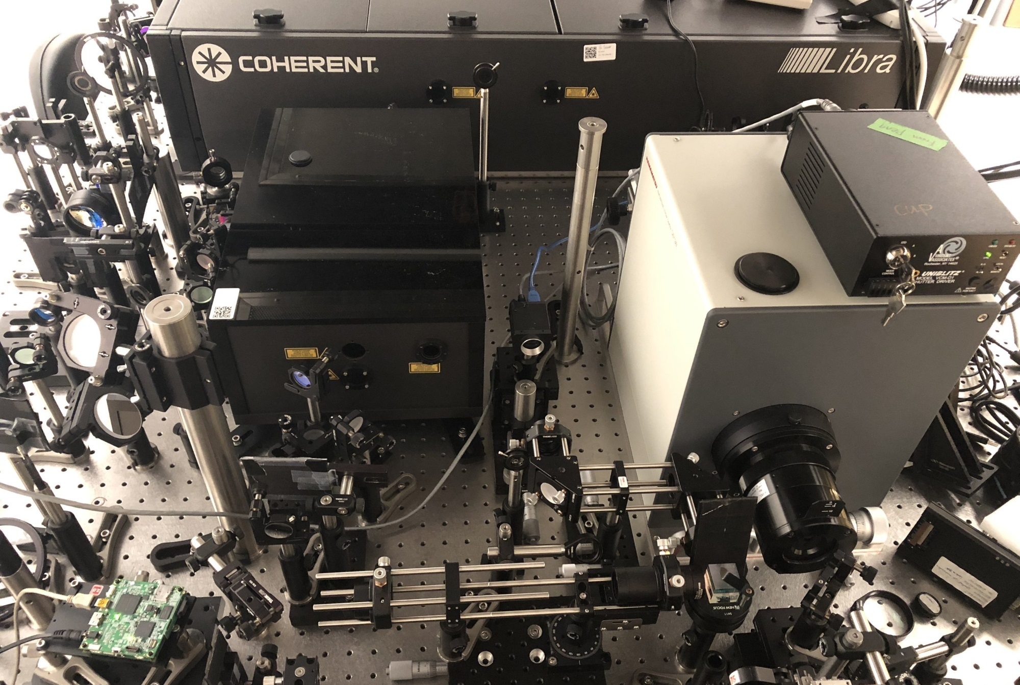 At 10 trillion frames per second, this camera captures light