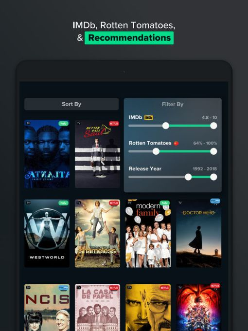 Reelgood's app for cord cutters adds 50+ services, personalized recommendations