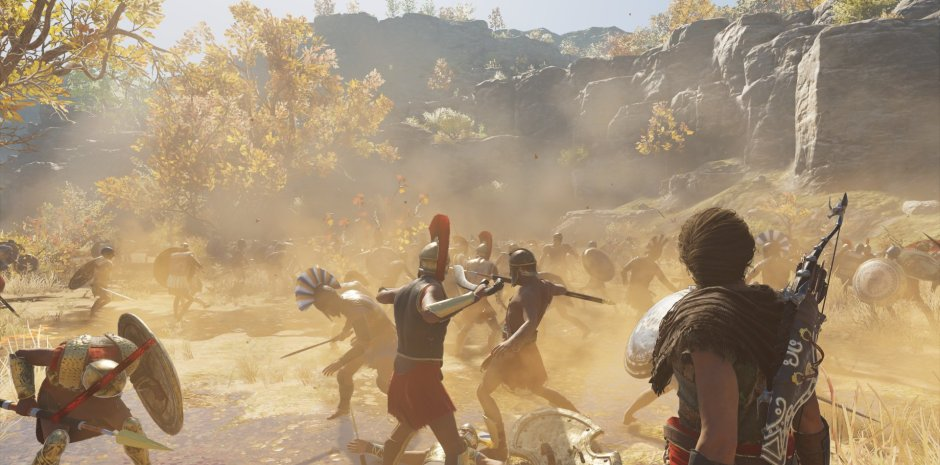 In S Creed Odyssey Falls Far Short Of Its Own Wondrous Sandbox