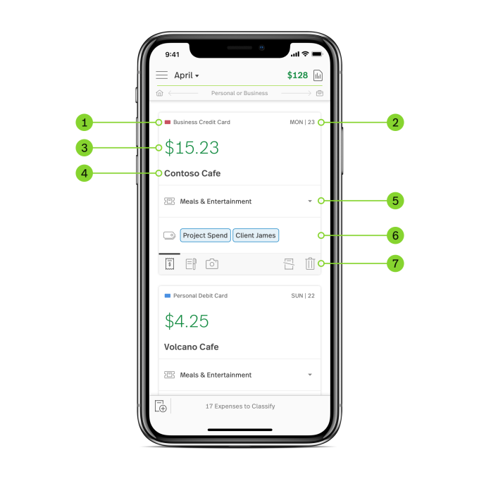 microsoft s new expense tracker spend hits the app store techcrunch