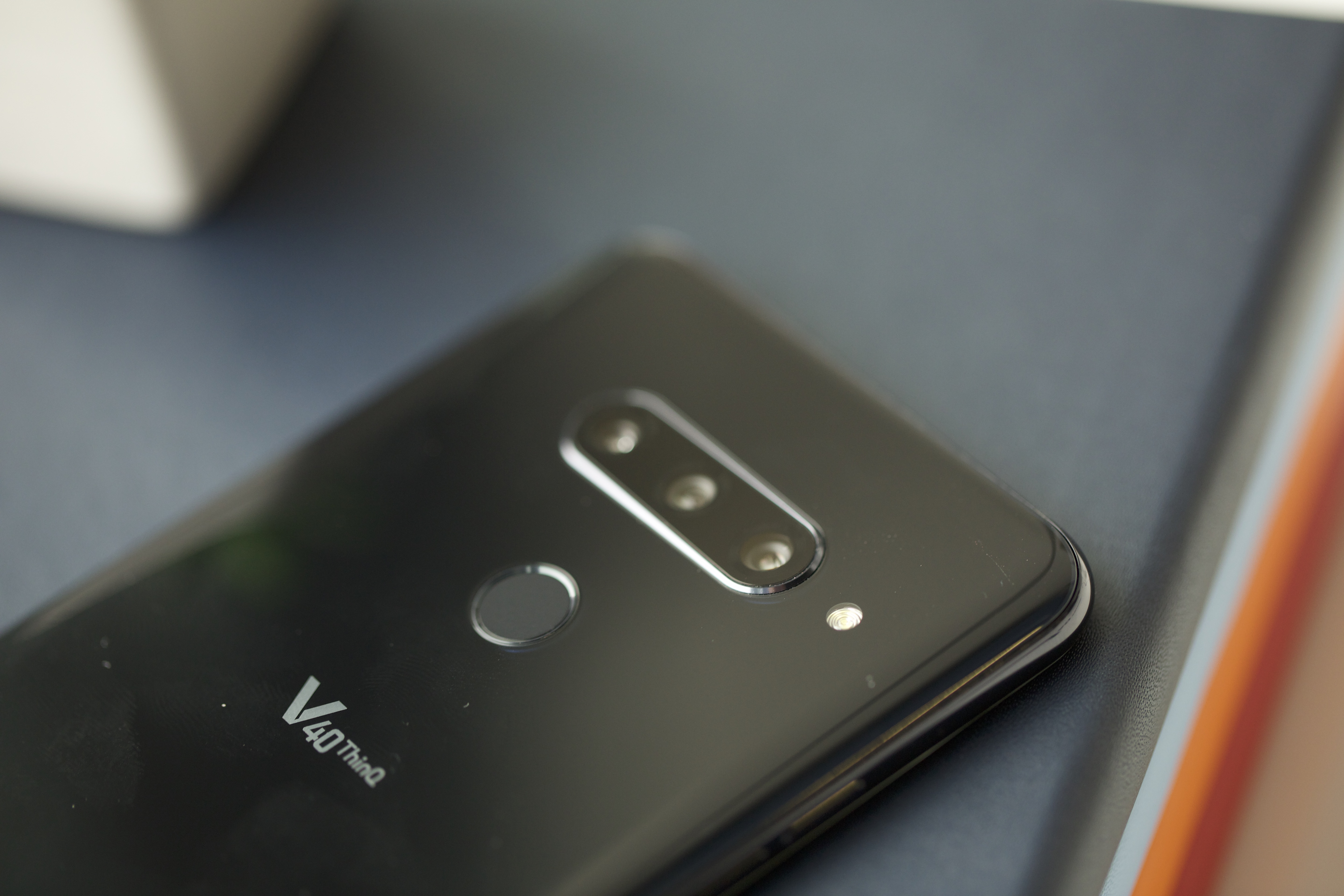The V40 ThinQ is LG's new five-camera smartphone