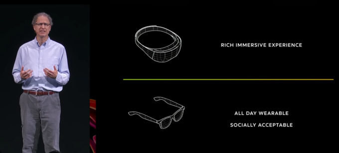 Facebook confirms it's building augmented reality glasses Facebook AR Glasses Michael Abrash