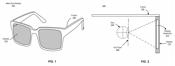 Facebook confirms it's building augmented reality glasses Facebook AR Glasses Patent