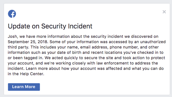 Here's how to find out if your Facebook was hacked in the