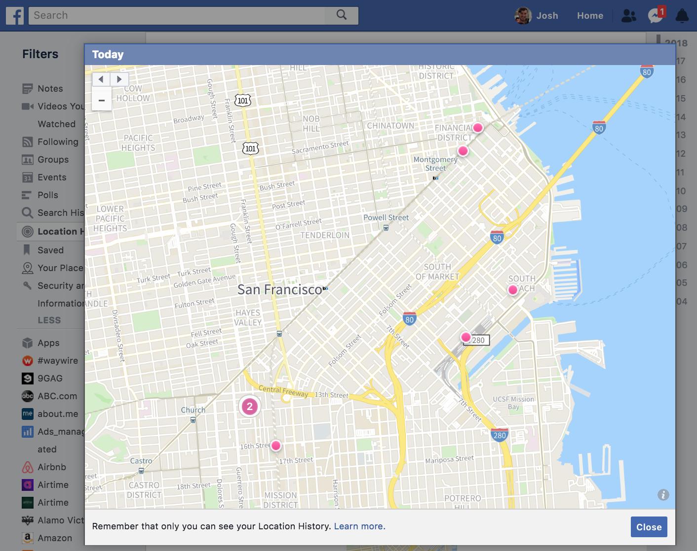 Instagram Prototypes Handing Your Location History To Facebook Rhtechcrunch: Geo Location Instagram Information At Gmaili.net