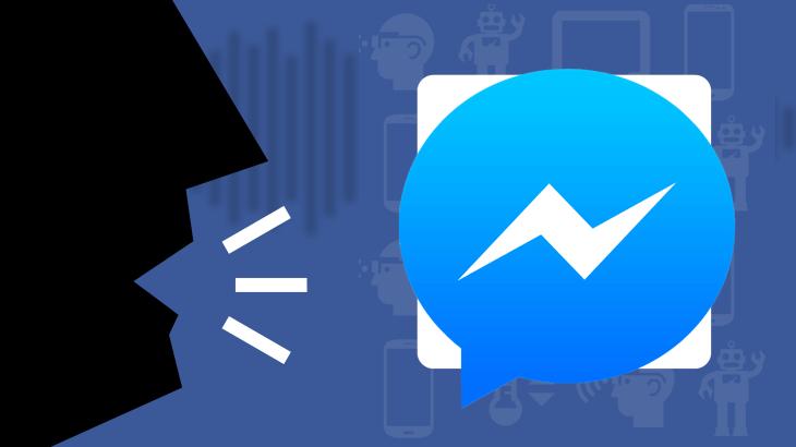Facebook Messenger Voice Control
