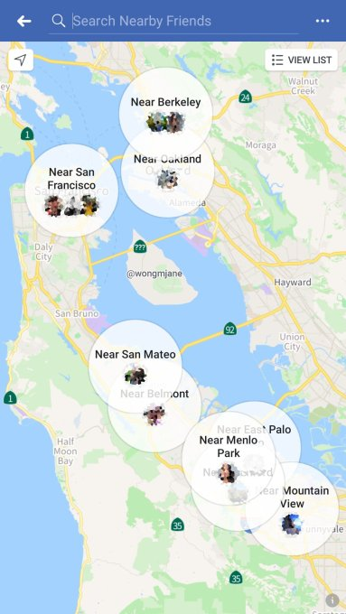 Facebook tests Snap Map-style redesign of Nearby Friends
