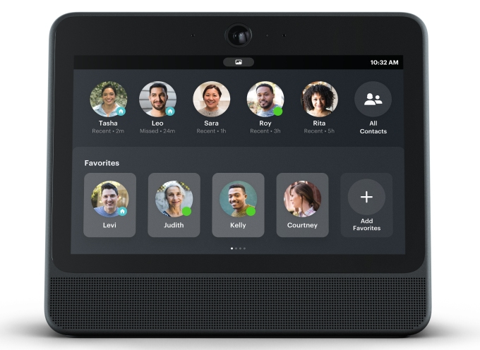 Facebook launches Portal auto-zooming video chat screens for $199