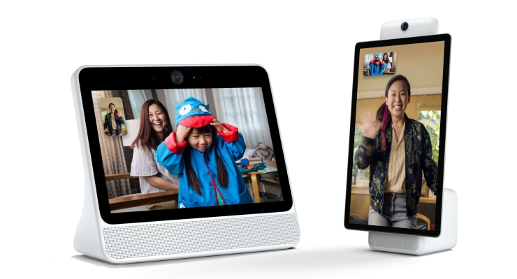 Facebook launches Portal auto-zooming video chat screens for