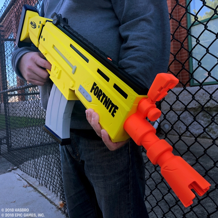this is the fortnite nerf gun techcrunch