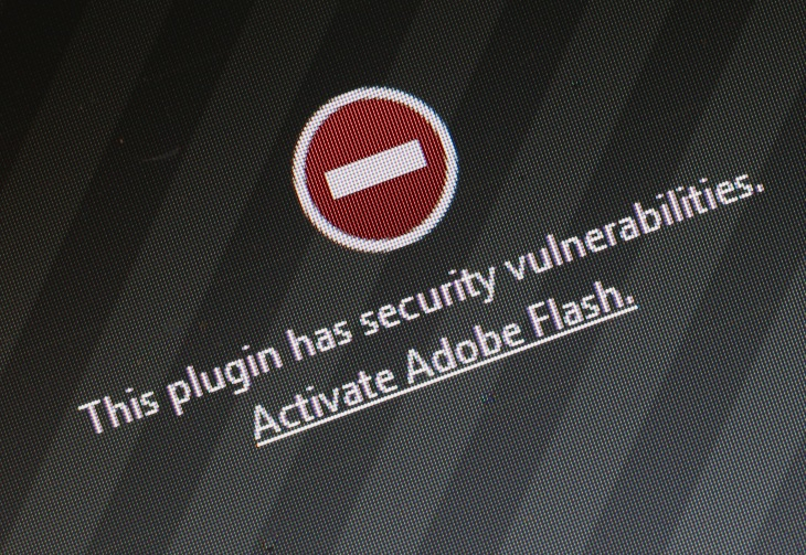 A flood of fake installers will really update Flash for you