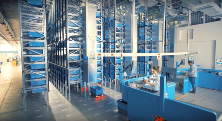CommonSense Robotics' first automated fulfillment center is