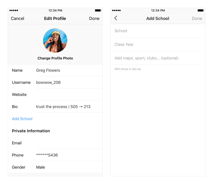 Instagram launches scannable Nametags, tests school networks for