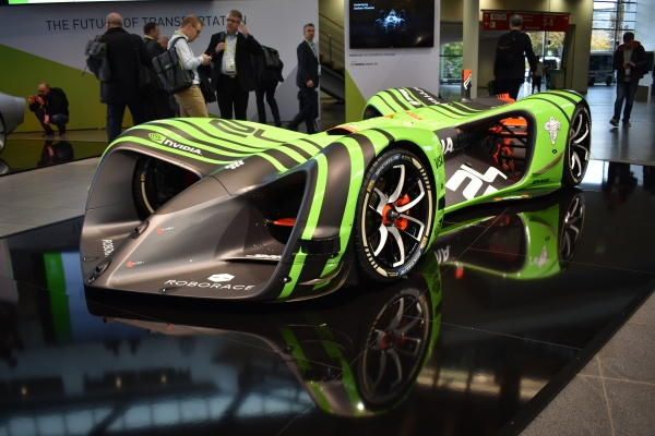Roborace to Replace F1 Racing Drivers with Robots at Disrupt