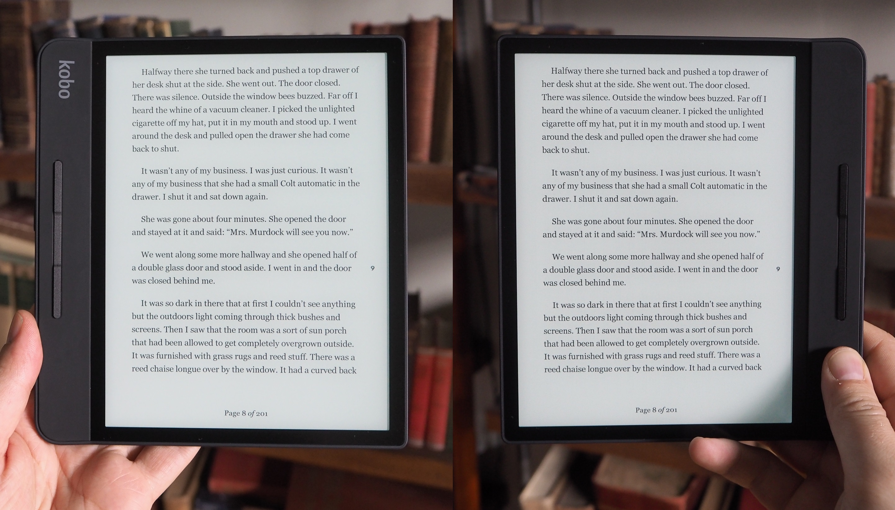 kobo s forma e reader takes on kindle oasis with an asymmetric