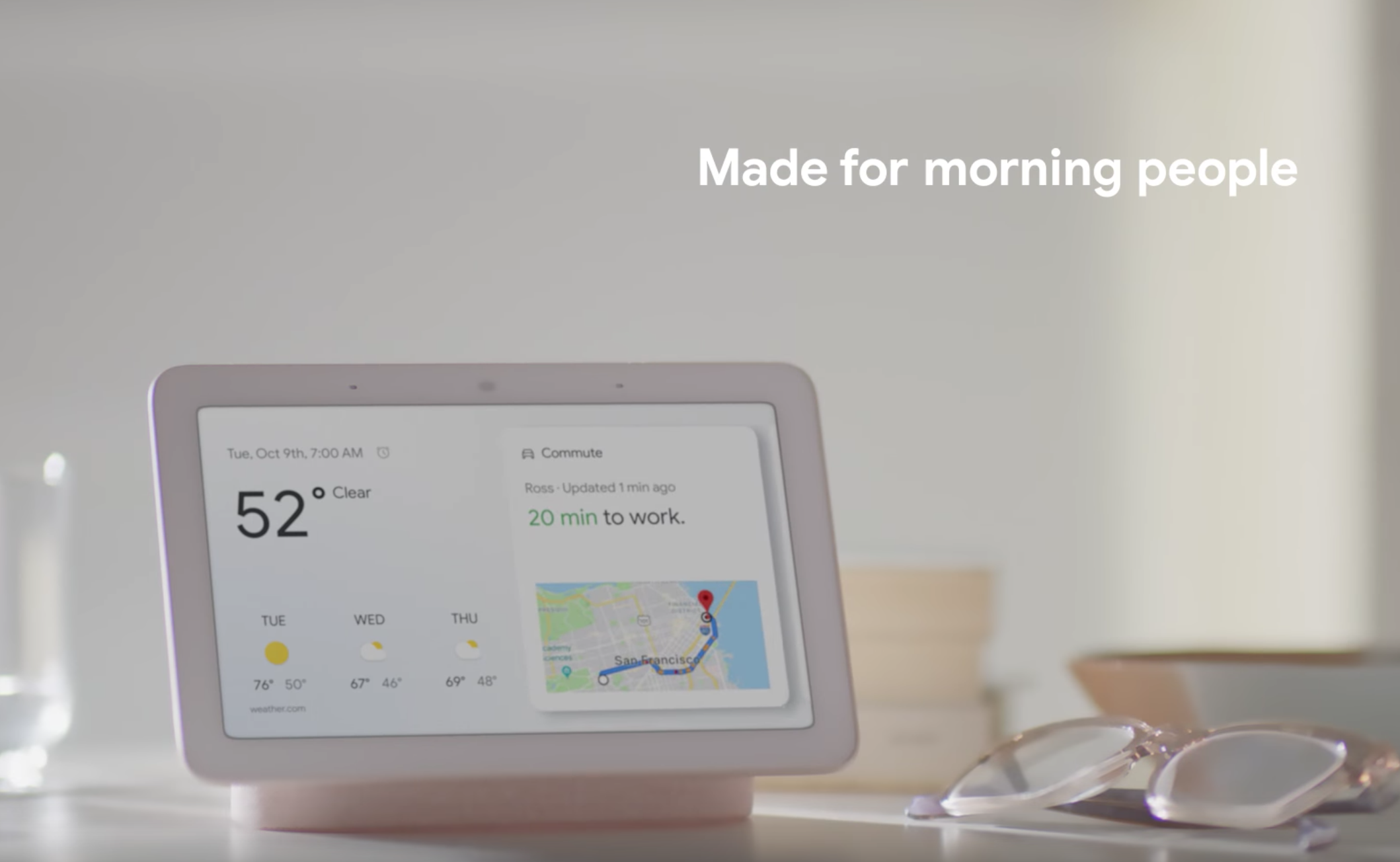 Here's Google's Echo Show competitor, the Home Hub