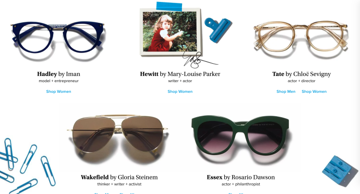 22e9a37ec4d2 Warby Parker taps NY celebs for Pupils Project limited edition collection