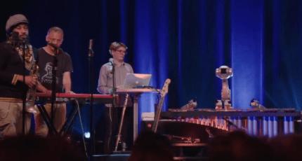 Watch Shimon the marimba-playing robot play along to jazz, reggae