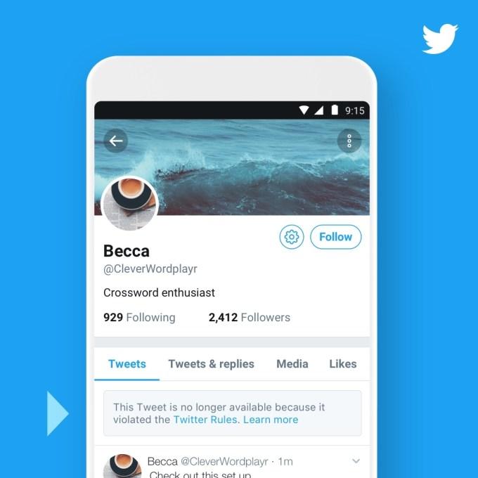 推特将允许用户重新查看被删除推文