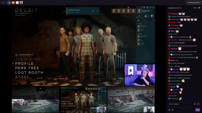 Twitch announces group streaming and a karaoke game for its