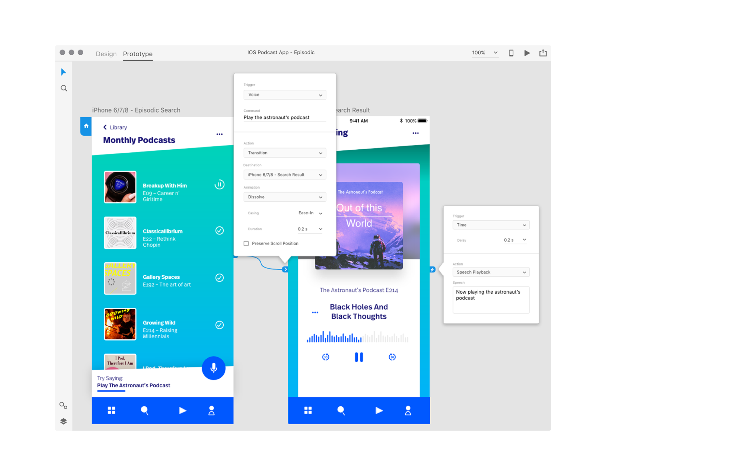 adobe xd now lets you prototype voice apps techcrunch