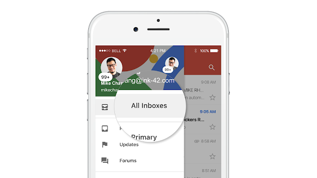 Gmail's iOS App Gets a Unified Inbox
