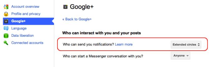 Looking back at Google+ google plus notifications 2011