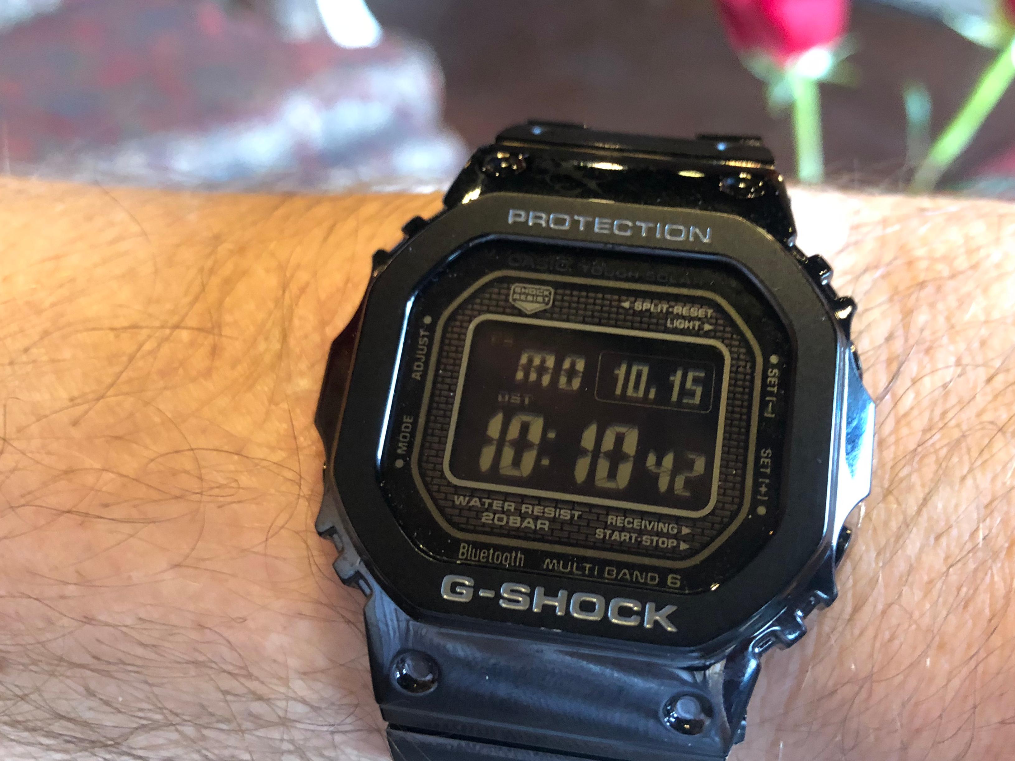 52f55d25ba52d Casio adds modern tech to the classic G-Shock watch