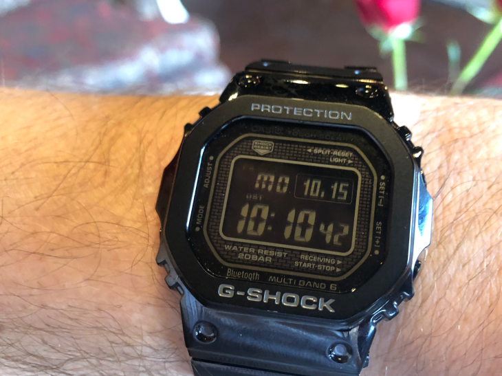 detailed look df7fa 1ad31 Casio adds modern tech to the classic G-Shock watch | TechCrunch