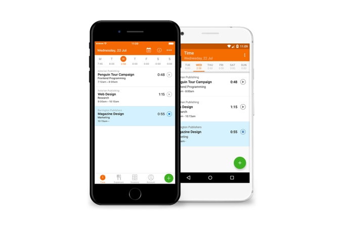 Apps And Services For Productivity And Wellness TechCrunch - Invoice tracking app