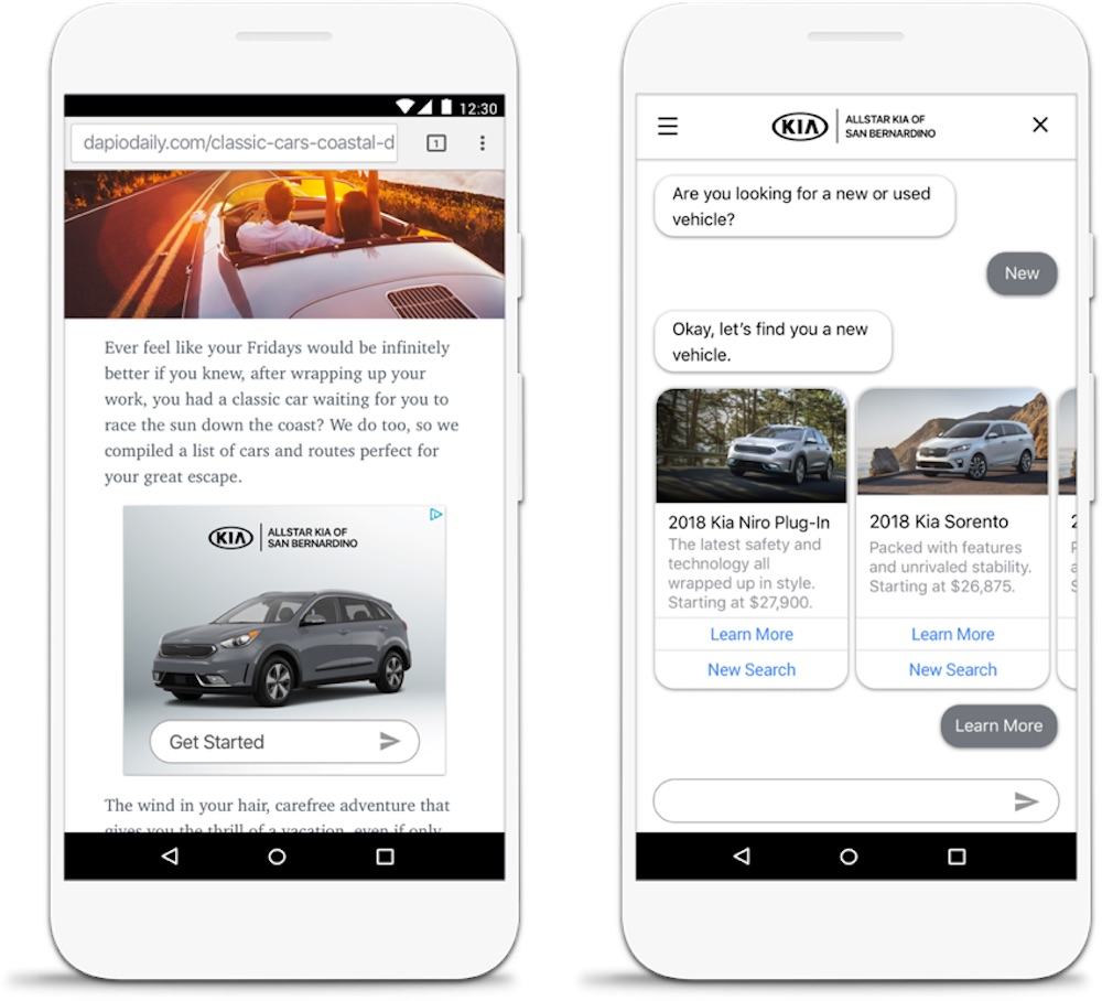 Adlingo google-incubated adlingo uses chatbot integration to create