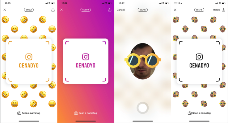 Instagram launches scannable Nametags, tests school networks