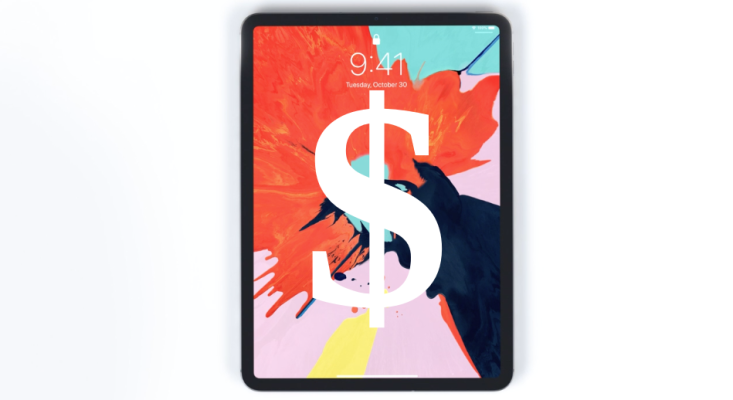 A fully loaded iPad Pro will cost you $2,227.