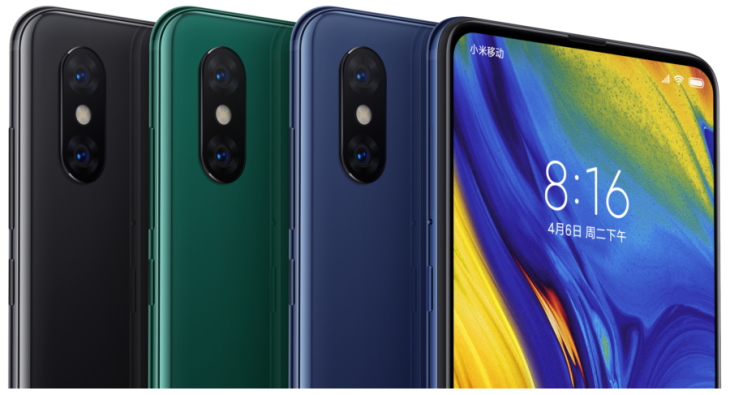 Xiaomi opts for sliding camera and no notch for new bezel