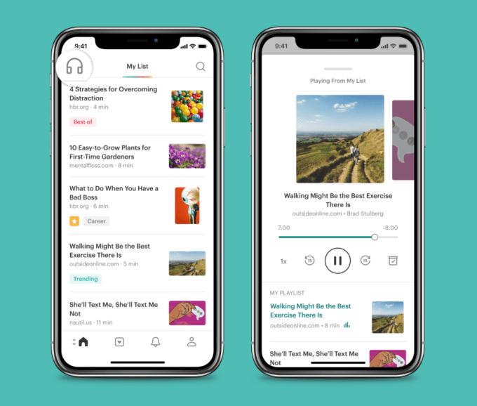 Pocket's reading app won't sound so robotic now   TechCrunch
