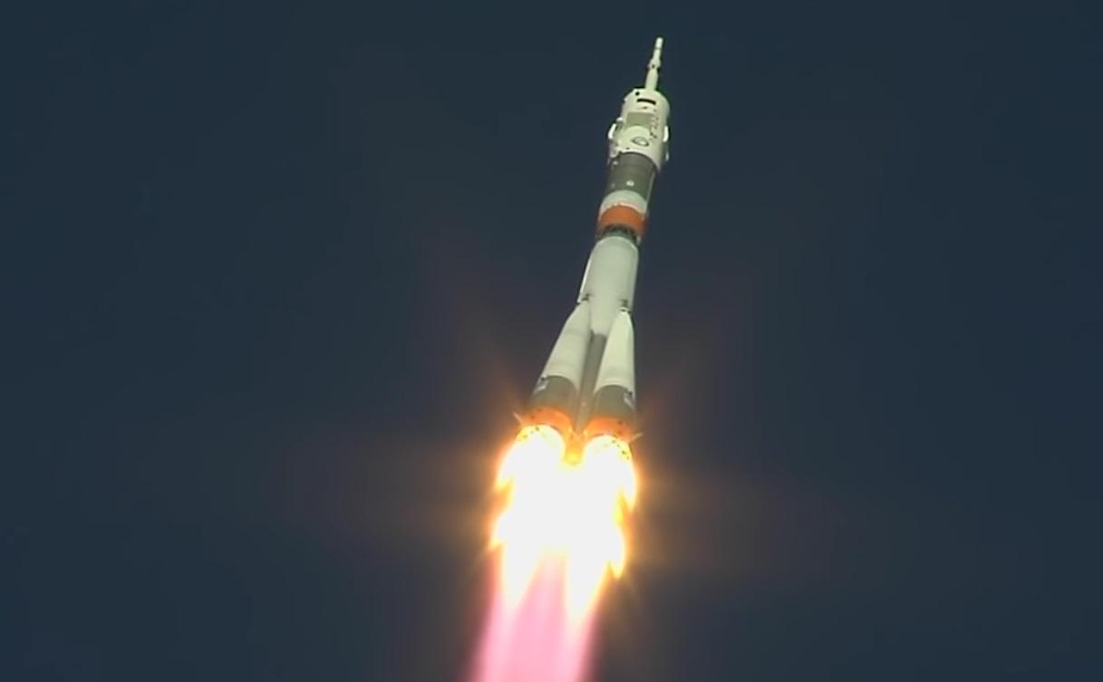 Astronauts land safely after Soyuz launch fails at 20 miles up soyuz PRE