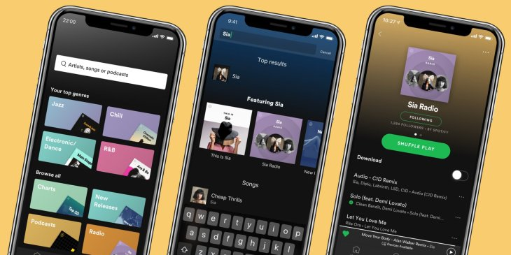 Spotify's Premium app gets a big makeover | TechCrunch