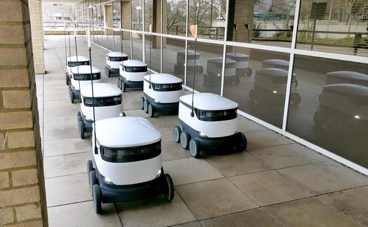 شركة Starship و روبوتاتها ذاتية القيادة لتسليم الطرود عند الطلب