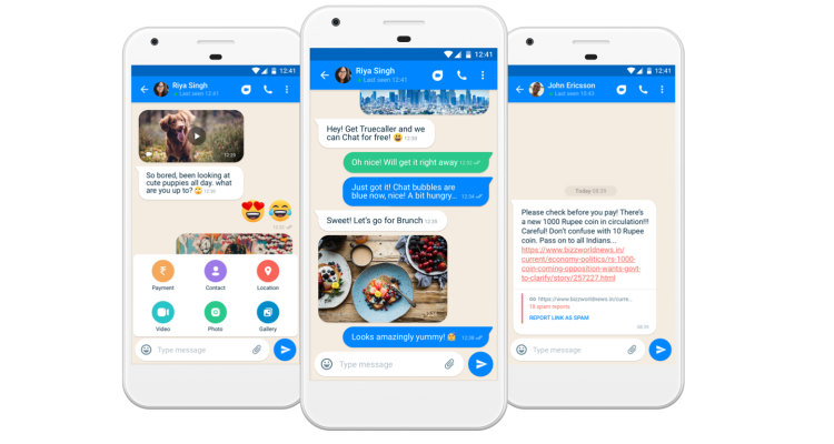Anti-spam service Truecaller is now a messaging app too