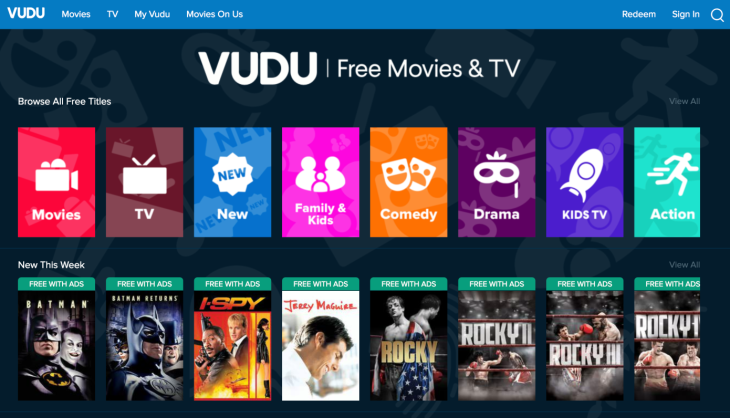 Walmart's Vudu may add subscription video channels to its streaming