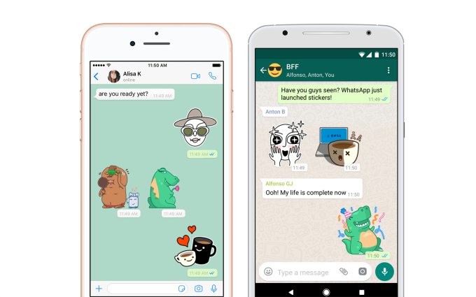 WhatsApp is finally adding stickers