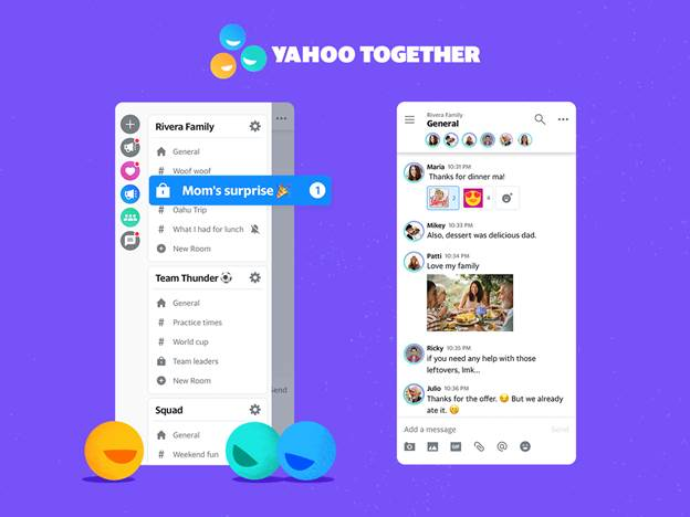 Yahoo returns to messaging with IRC-inspired Yahoo Together | TechCrunch