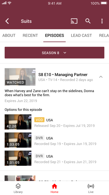 YouTube TV's DVR now lets you fast-forward through ads on