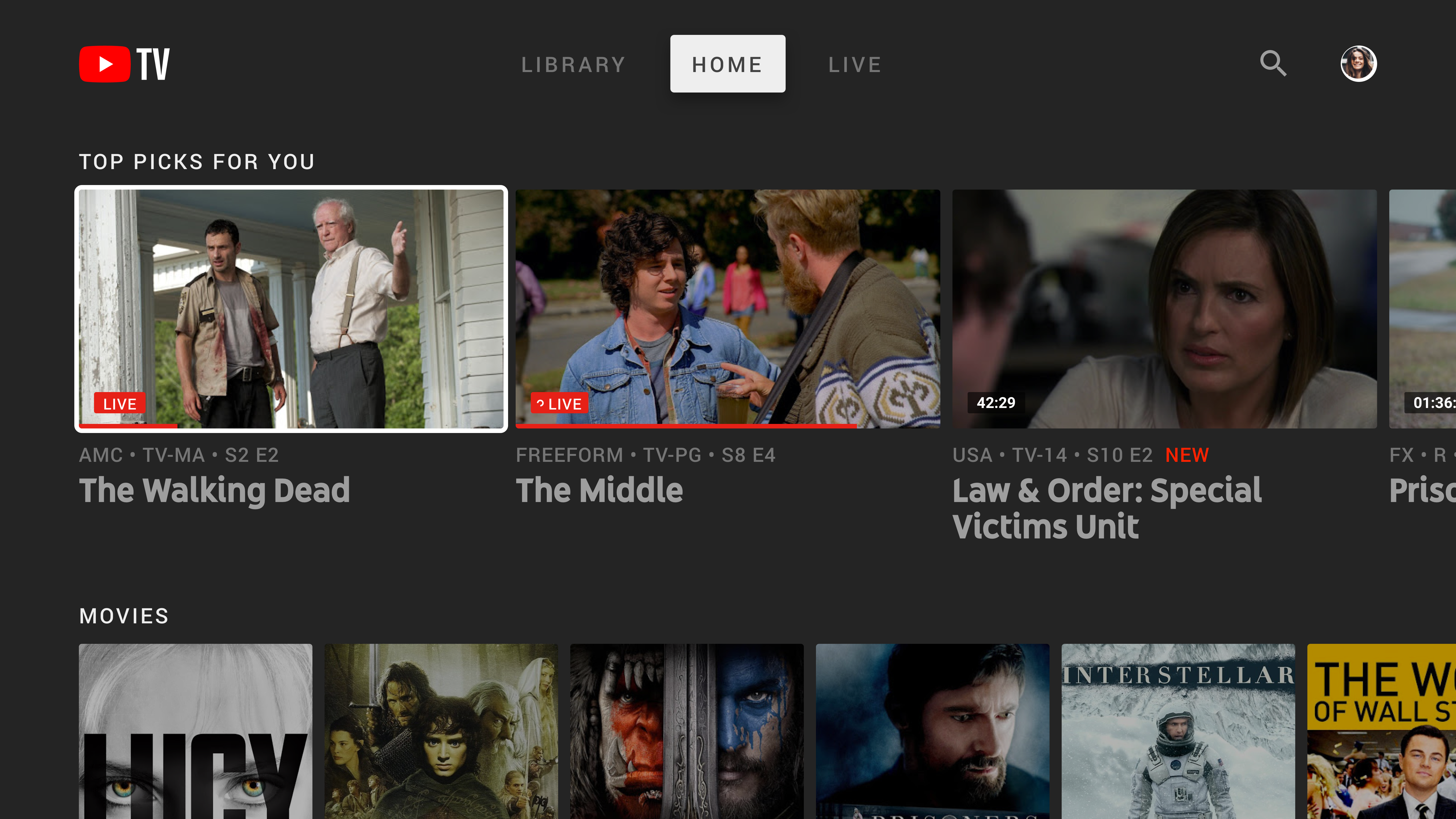 YouTube TV's DVR now lets you fast-forward through ads on more major