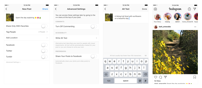 Instagram is using object recognition tech to describe