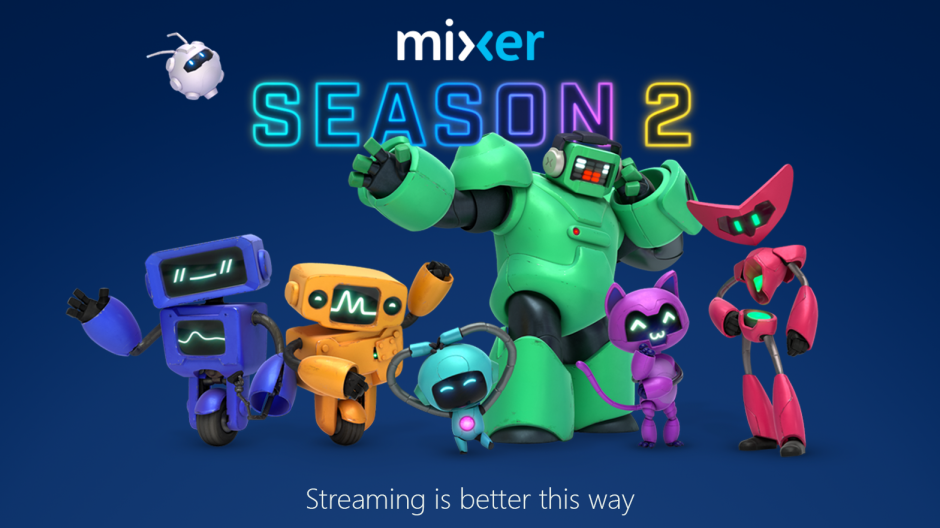 Microsoft's game streaming service Mixer adds more ways for