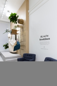 Brooklinen launches a pop-up shop in NYC
